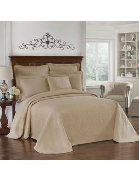 Historic Charleston Collection Matelasse Queen Bedspread In Ivory by Bed Bath And Beyond