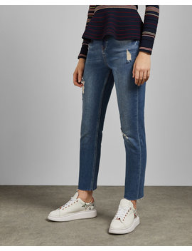 Girlfriend Fit Jeans by Ted Baker