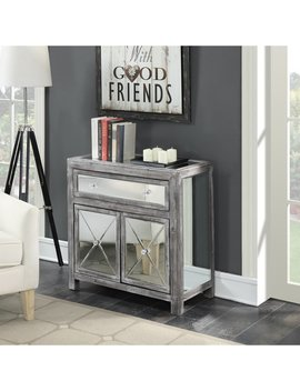 Silver Orchid Talmadge Mirrored Cabinet by Silver Orchid