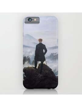Wanderer Above The Sea Of Fog   Caspar David Friedrich I Phone Case by