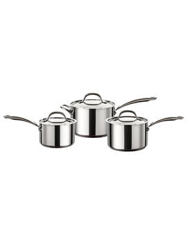 Circulon Ultimum Stainless Steel Pan Set, 3 Pieces by Circulon