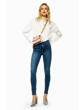 Dirty Zip Hem Jamie Jeans by Topshop