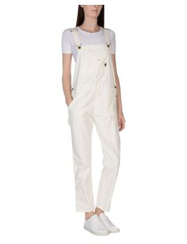 Women's White Dungarees by Carhartt