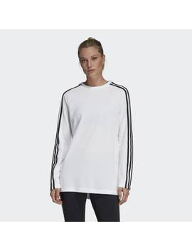 Must Haves 3 Stripes Long Tee by Adidas