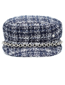 New Abby Tweed Hat by Maison Michel