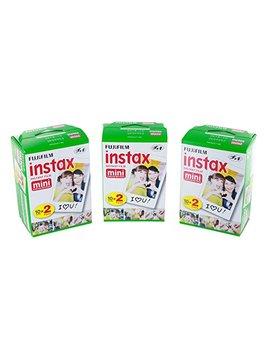 Fujifilm Instax Mini Film Bundle Pack (60 Aufnahmen) by Amazon