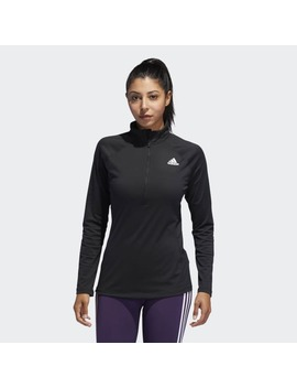 Quarter Zip Top by Adidas