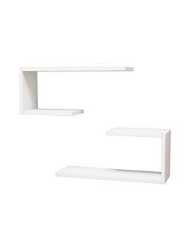 Latitude Run Anvi Modern Wall Shelf by Latitude Run