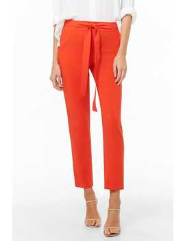 Straight Leg Pants by Forever 21