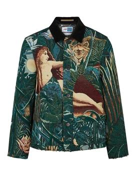 Green Jacquard Jacket by Kenzo Memento