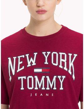 Tommy Jeans Boxy New York T Shirt by Tommy Hilfiger