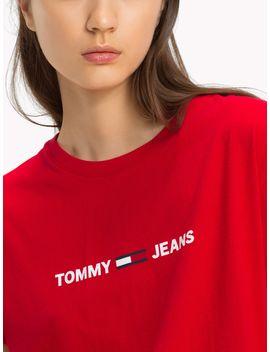 Tommy Jeans Boxy Logo T Shirt by Tommy Hilfiger
