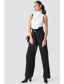 High Waist Wide Leg Pants by Julia Wieniawa X Na Kd