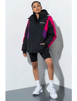 Adidas Color Block Puffer Jacket by Akira
