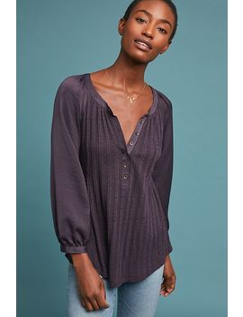 Kersee Henley Top by Meadow Rue