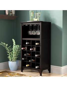 Darby Home Co Mackenzie 20 Bottle Floor Wine Glass Rack & Reviews by Darby Home Co