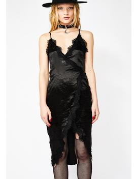 Moonlight Seduction Satin Dress by O Vianca