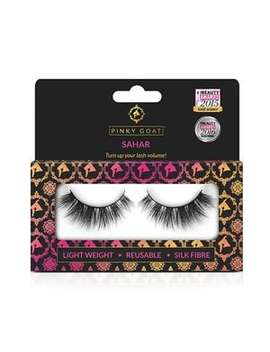 Pinky Goat Silk False Eyelashes   Sahar by Superdrug