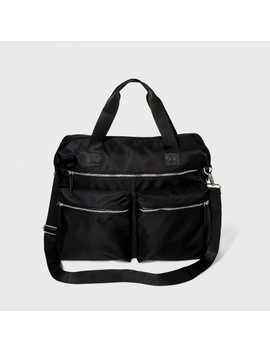 Trim Nylon Weekender Bag   Wild Fable™ Black by Wild Fable