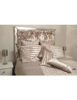 Made To Measure Stunning Mirror Framed Chesterfield Headboard, Bespoke Styles / All Sizes Available  Please Note  Full Price On Quotation by Etsy