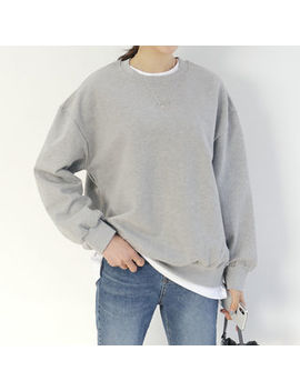 Dani Love   Loose Fit Colored Sweatshirt by Dani Love
