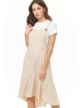 High Low Pinafore Dress by Forever 21