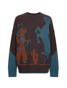 Wester Knit Jumper by Dsquared2