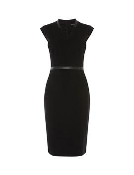 Contrast Waist Belt Dress by Dc298 Dd254 Dd111 Dc123 Gd996 Fd164 Gd093 Kd180 Td159 Td116 Gd995 Fd007