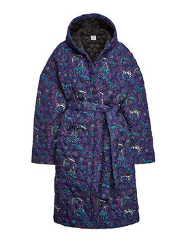 Printed Coat With Hood by Vetements