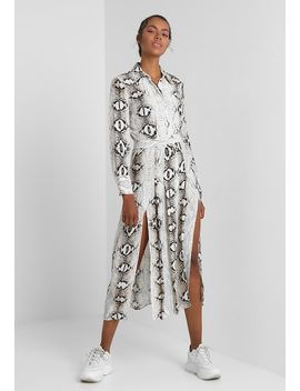 Snake Pleated   Maxikjoler by Topshop