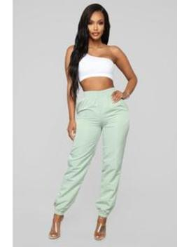 Lianna Lounge Jogger   Sage by Fashion Nova