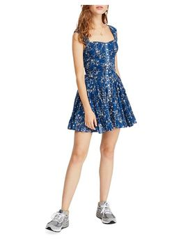 Dance On The Blacktop Floral Mini Dress by Free People