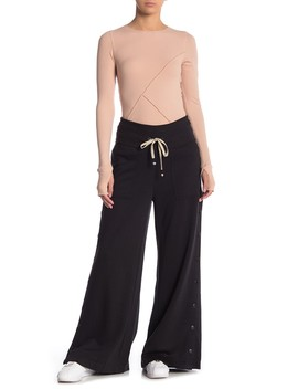 Viola Snap Button Knit Sweatpants by Free People