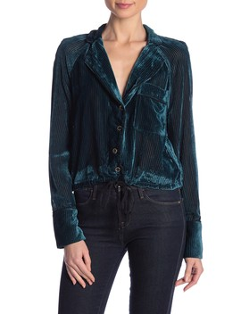 Nights Velvet Top by Free People