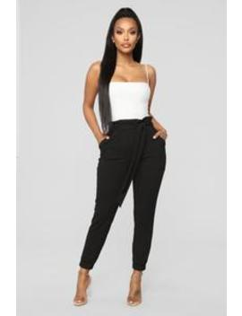 Keepin' It Up Pants   Black by Fashion Nova