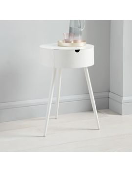Mitzi Nightstand   White by West Elm
