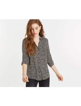 Animal Viscose Shirt by Oasis