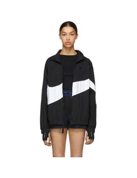 Black Nsw Hbr Track Jacket by Nike