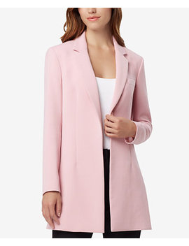 Tahari Petite Asl Notched Collar Kiss Front Jacket by Tahari Asl