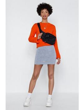 Jersey Basic Mini Skirt by Nasty Gal