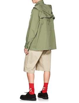 Cotton Army Anorak by Facetasm