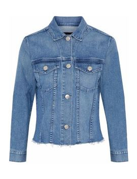 Distressed Denim Jacket by 3x1
