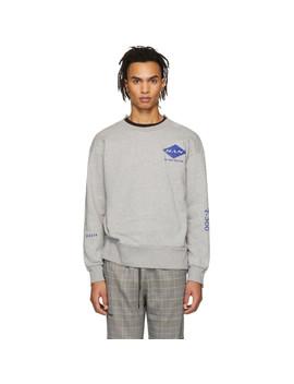 Grey Off Crew Sweatshirt by Han Kjobenhavn