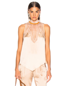 Lingerie Sleeveless Top by Jonathan Simkhai