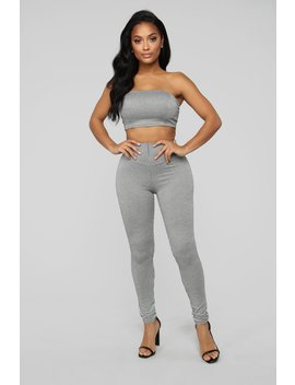 Ship Me To Paris Pant Set   Black/White by Fashion Nova