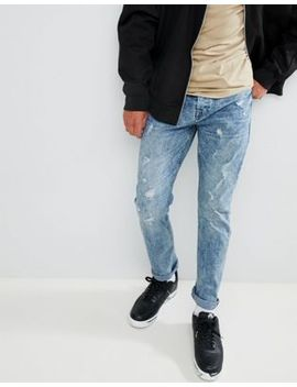 Only & Sons – Jeans In Karottenform Mit Wascheffekten by Asos