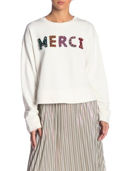 Embellished Graphic Sweatshirt by Grey Lab