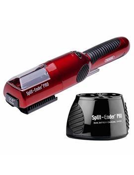 Split Ender Pro Cordless Split End Hair Trimmer W/Free Charging Station Original By Talavera (Red) by Split Ender Pro