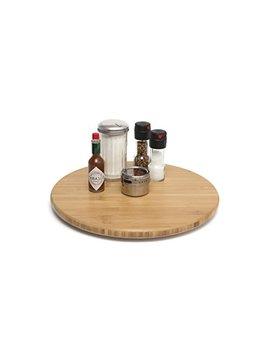 "Lipper International 8361 Bamboo Wood 16"" Lazy Susan Kitchen Turntable by Lipper International"