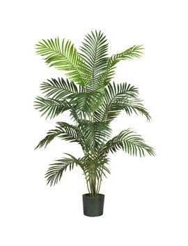 Nearly Natural 72 In Green Artificial Silk Tree by Lowe's